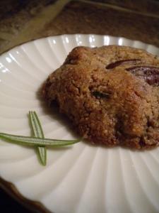 Rosemary Pecan Cookie