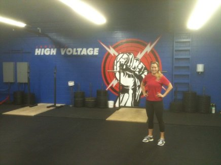 My first WOD at CFHV