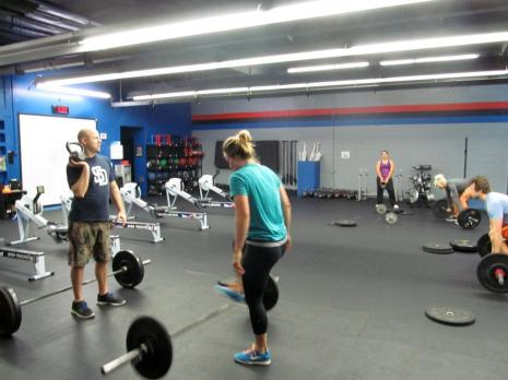 Saturday team WOD with Geoff