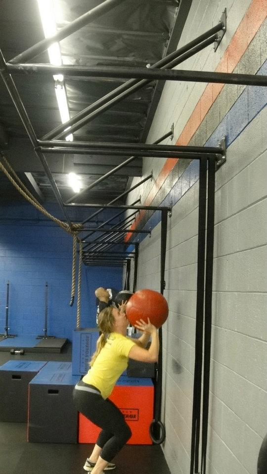 Love the wall balls