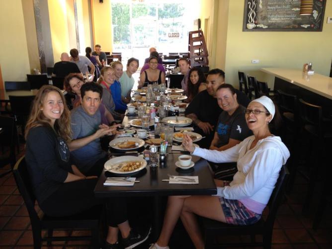 Waffle Wodder morning feast