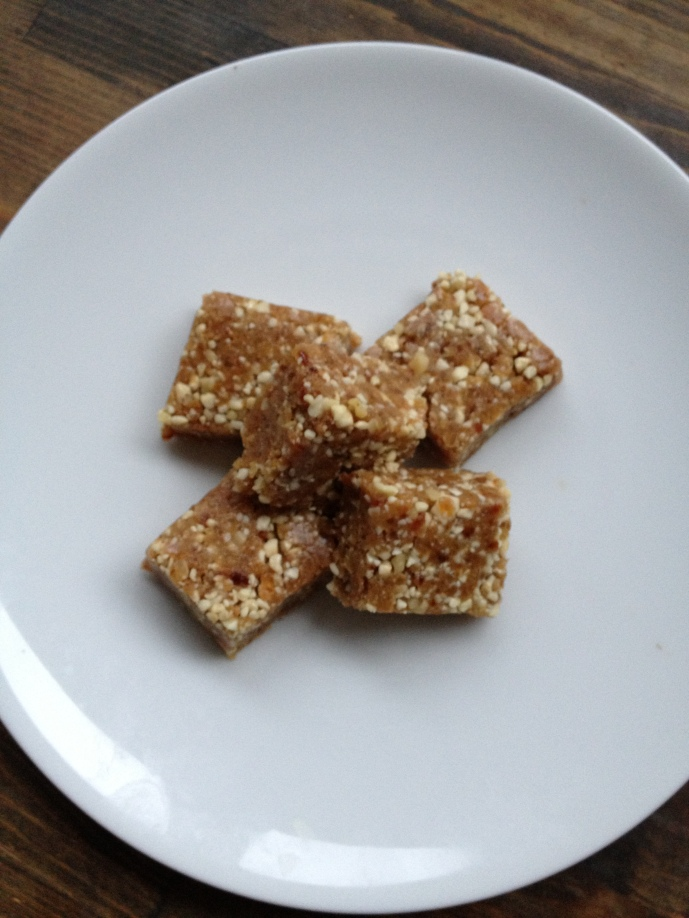 Ginger Date Bars