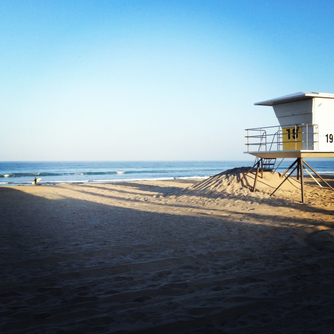 Mission Beach in the morning