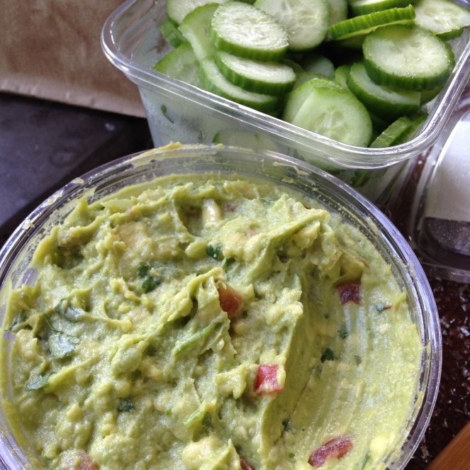 Guacamole and Veggie Chips