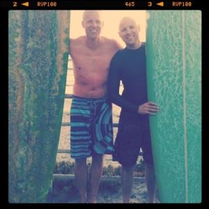 Johan and Geoff