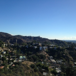 Griffith Park, looking fine.