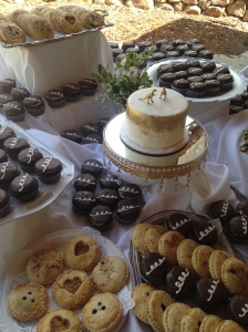 My friend's wedding treats. A big no-no for me.