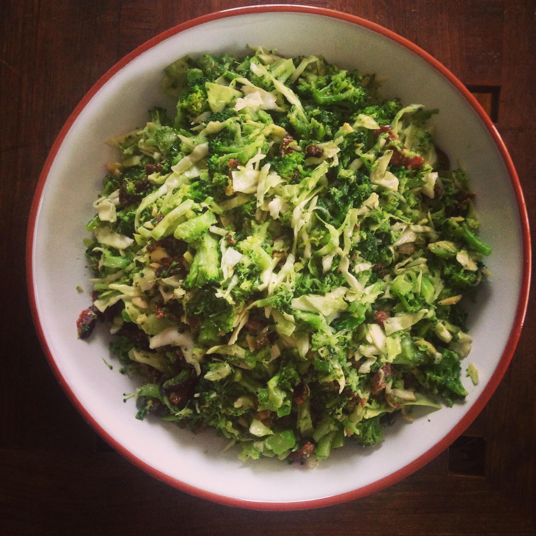 Bacon Broccoli Caesar Salad The Clean Plate