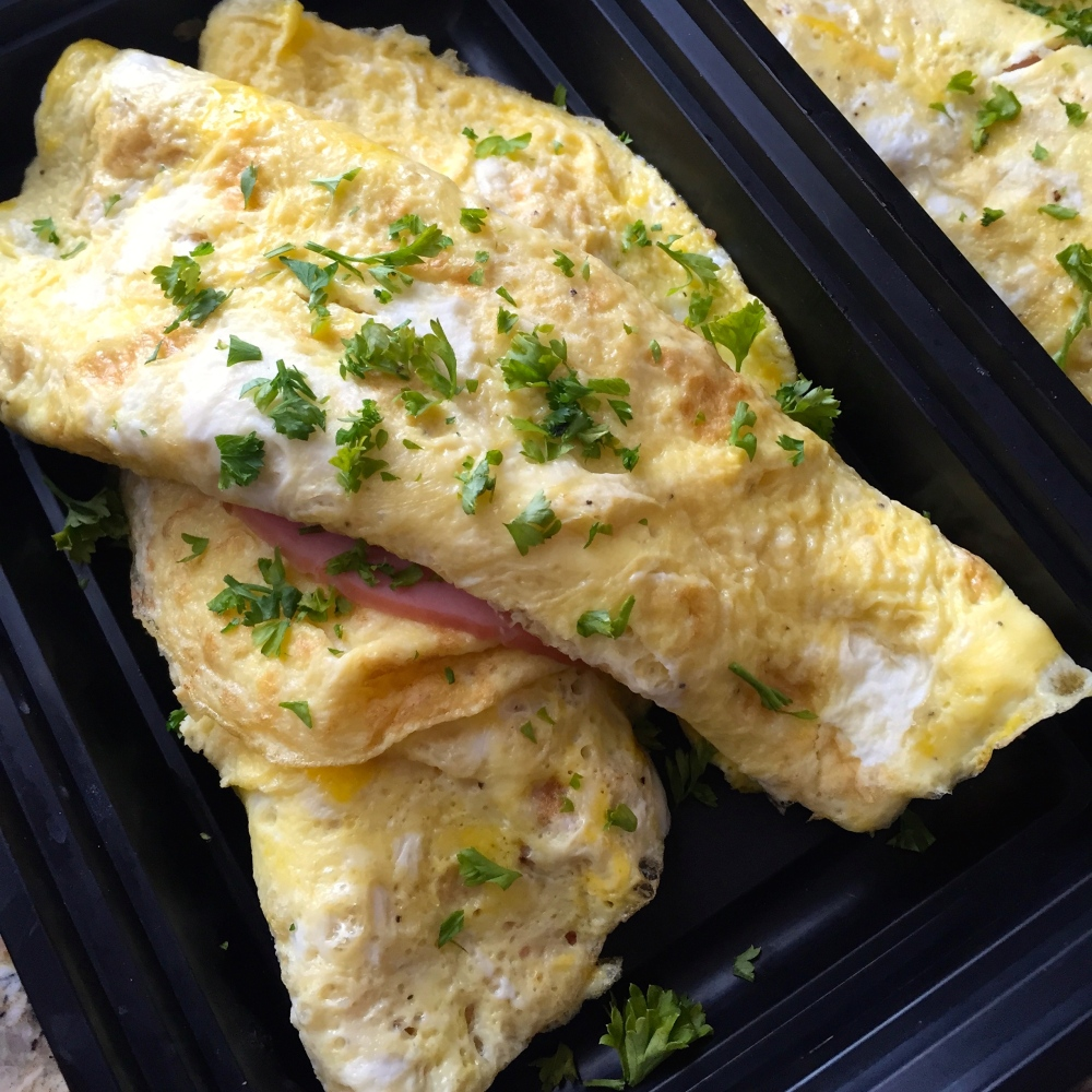 Ham and Egg Omlette | The Clean Plate Chef