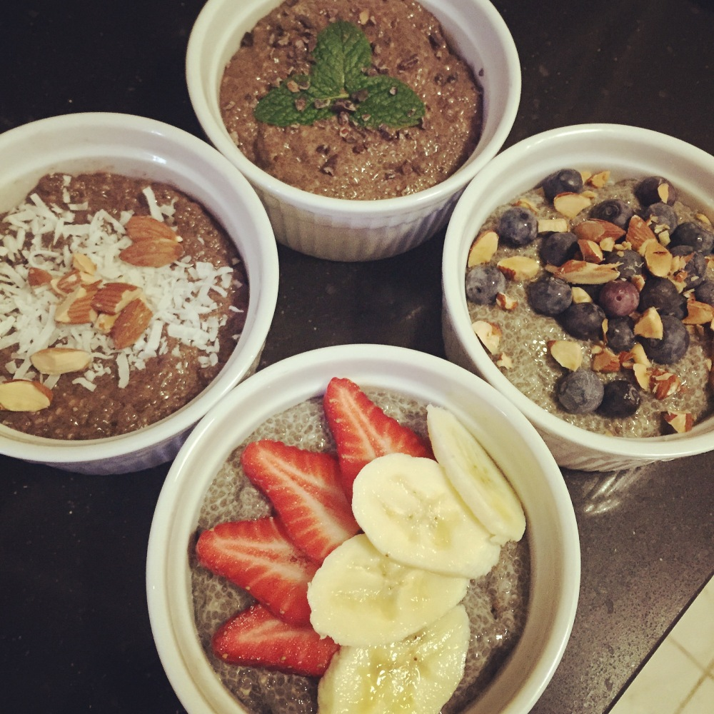 Chia Puddings