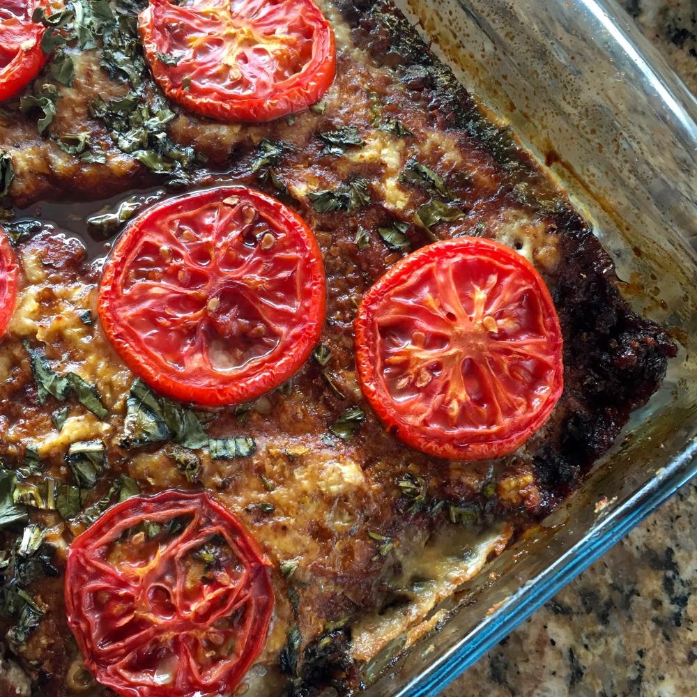 Tomato Basil Meatloaf