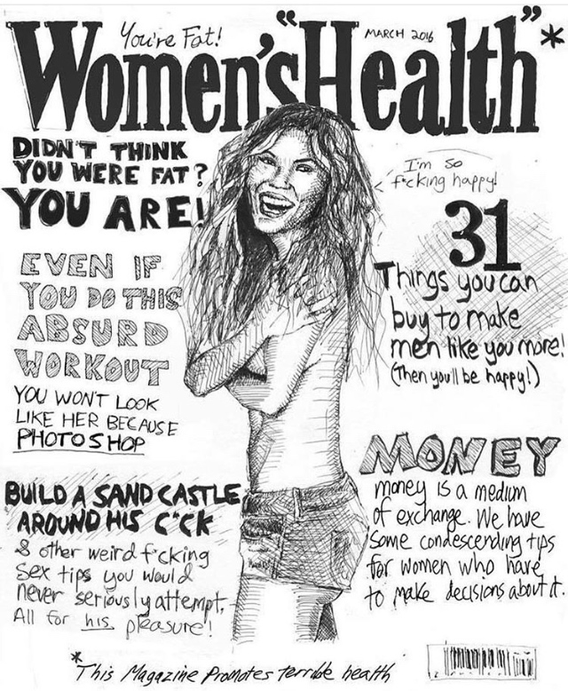 Womens' Health Mag Cover
