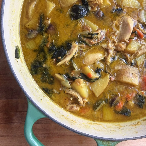 Vegetable Curry Stew - Dairy Free, Grain-Free, Nutrient Dense