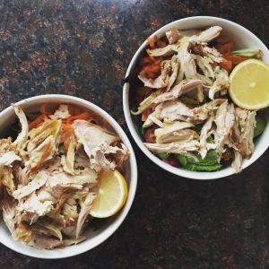Veggie Chicken Bowl