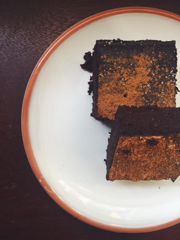 Mocha Spice Brownie