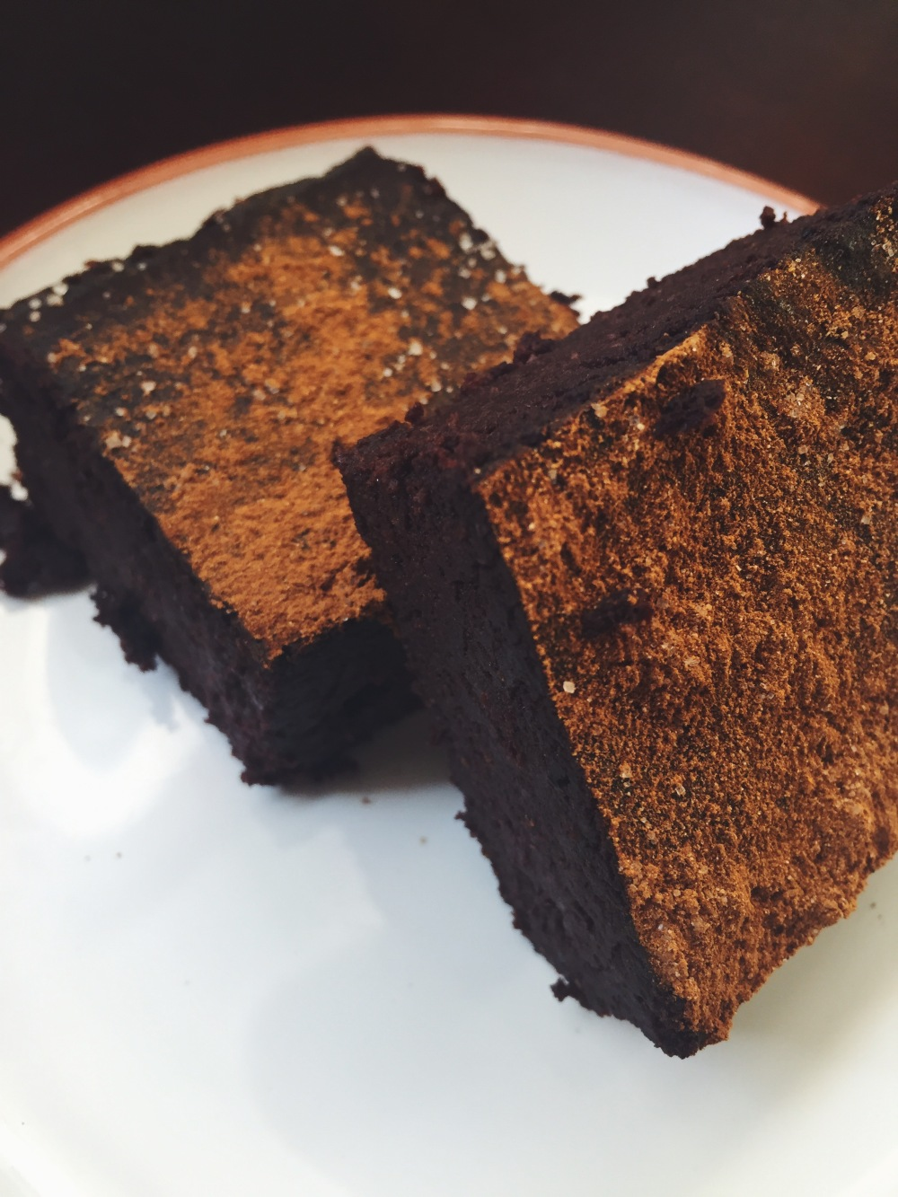 Mocha Spice Brownies