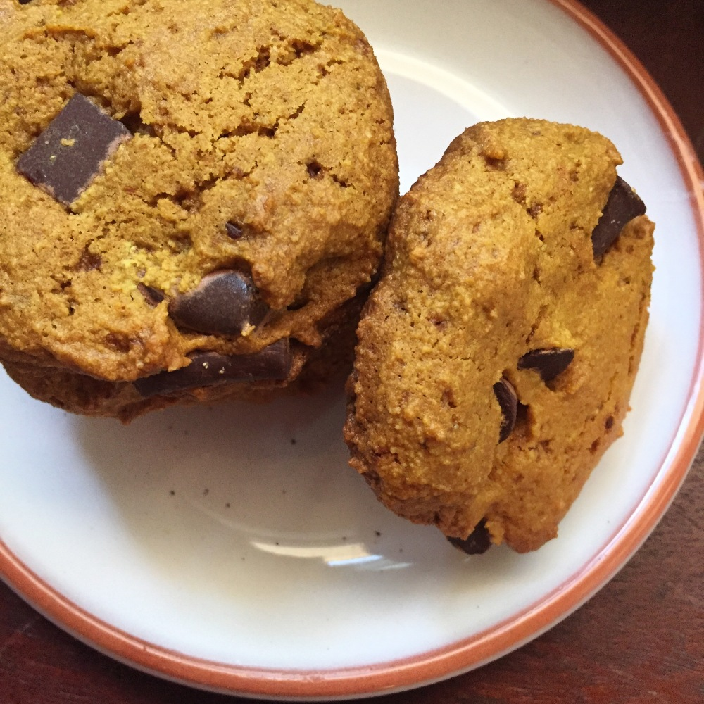 Turmeric Chocolate Chip Cookies