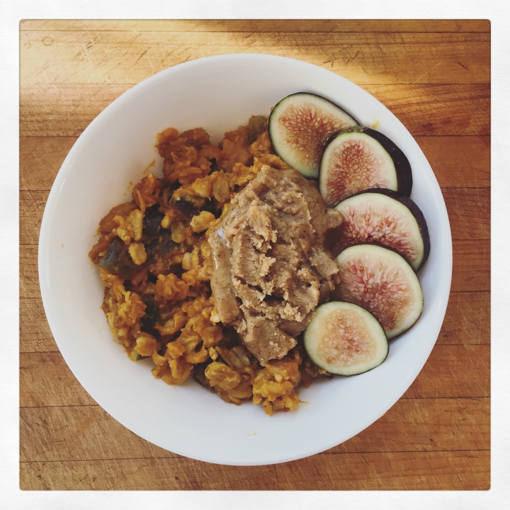 Pumpkin Fig Oats - The Clean Plate